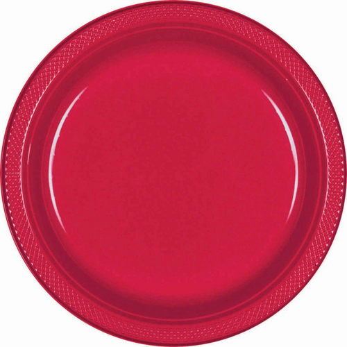 Plas Plates 17.7cm 20CT-Apple