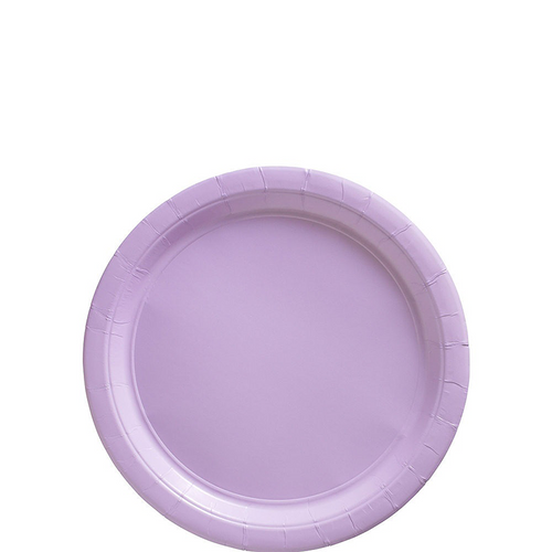 Ppr Plates 7in/17cm Rnd 20CT-L