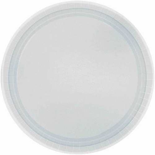 Ppr Plates 7in/17cm Rnd 20CT-S