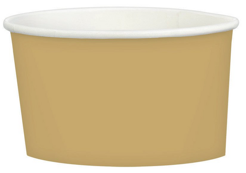 Ppr Treat Cup 9.5oz/280ml Gold
