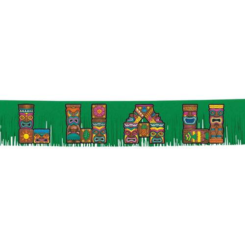 Summer Luau Tiki Letters Fring