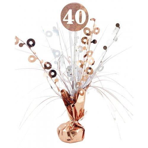 CENTREPIECE ROSEGOLD #40