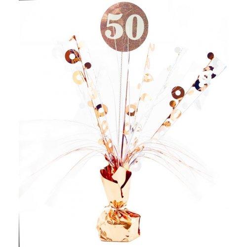 CENTREPIECE ROSEGOLD #50
