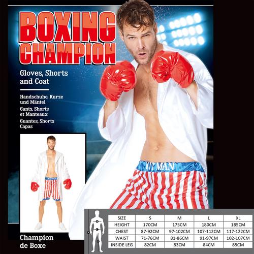 Boxing Champion Size L