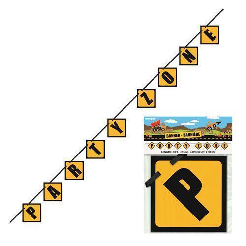 Construction Zone Blick Banner