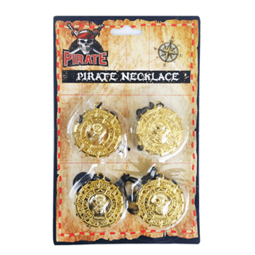 *4PK PIRATE NECKLACE