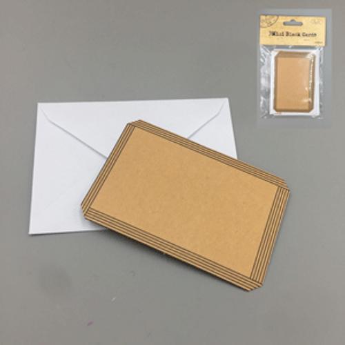 3pk Mini Blank Cards with envelopes (6cm x 9cm)