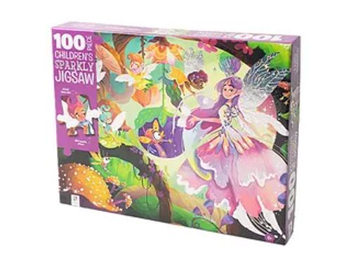 100PCS KIDS SPARKLY PUZZLE FAIRY