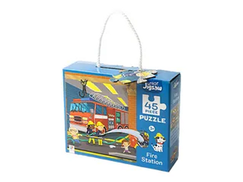 45PCS JUNIOR PUZZLE - FIRE STATION