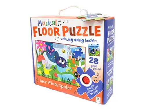 MUSICAL FLOOR PUZZLE INCY SPIDER