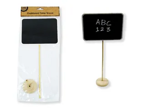 RECTANGLE CHALKBOARD ON STAND
