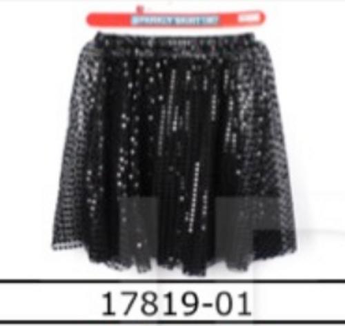 Sparkly Skirt (M) (Black)