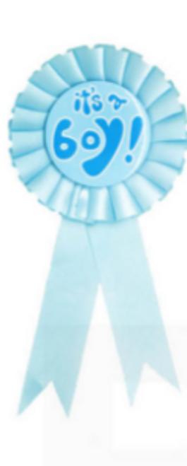 Party Badge (It's a Boy)
