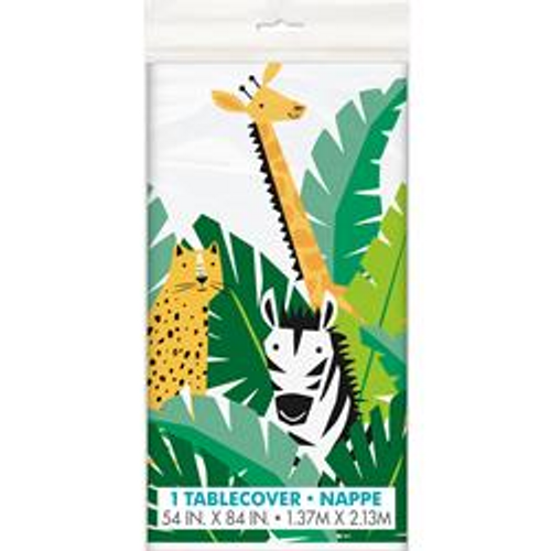 ANIMAL SAFARI TABLECOVER