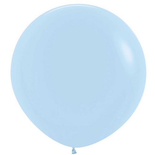 60cm Pstl Matte Blue Ltx 640