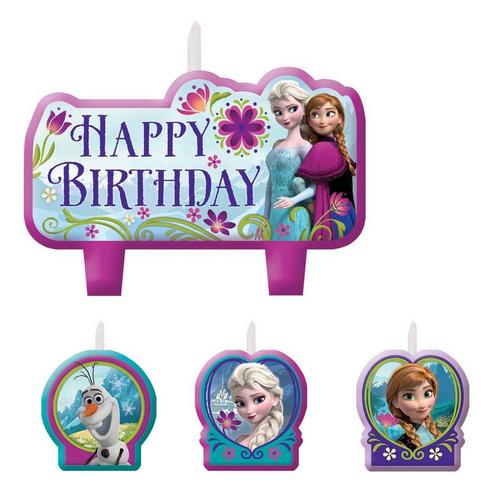 Frozen BDAY Candle Set