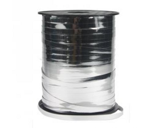 FS Metallic Ribbon 5mm x 500Y Spool Silver