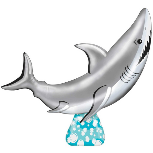 Inflatable Shark Ring Toss Game