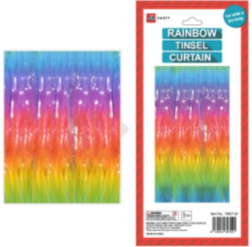 Metallic Curtain Deluxe Pastel (Light)