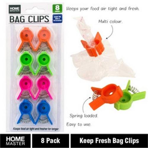 Keep Fresh Bag Clips 8pk
