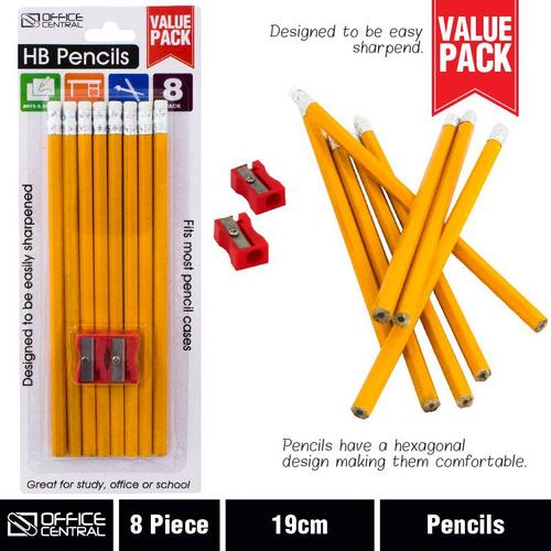 Pencils Lead HB 8pc