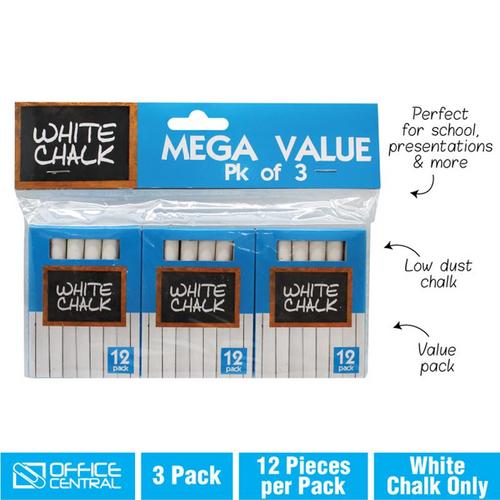Chalk White - 9cm 3pk x 12