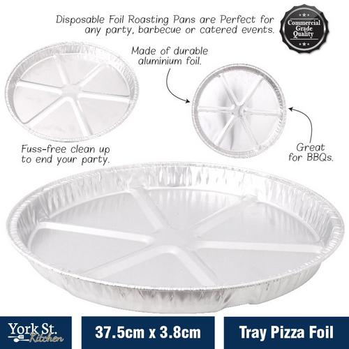 Foil Tray Pizza 37.5cm x 3.8cm
