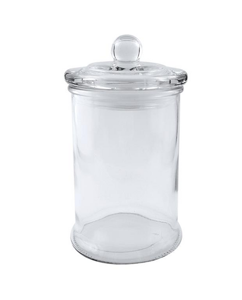 Glass Apothecary Lolly Jar - Large