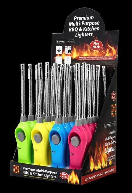Kitchen/BBQ Gas Lighter -Flexible Head - Display Box Series