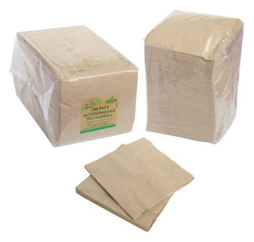 Biodegradable Series Paper Napkin - 23CM X 23CM -250PK