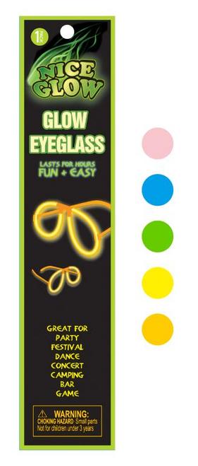 Glow in the Dark Novelty Glasses