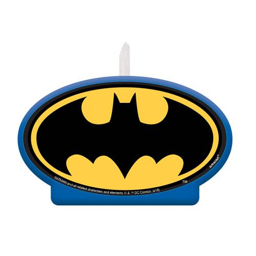 Batman Heroes Unite BDAY Candl