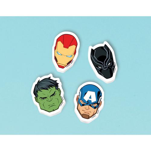 Marvel Powers Unite Erasers
