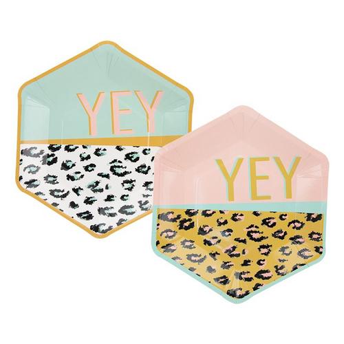 Leopard Plates