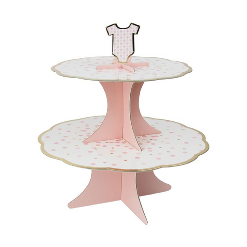 Baby Pink Cake Stand