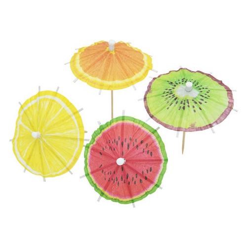 Fruit umbrella picks