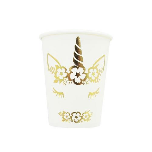 unicorn cups-foil