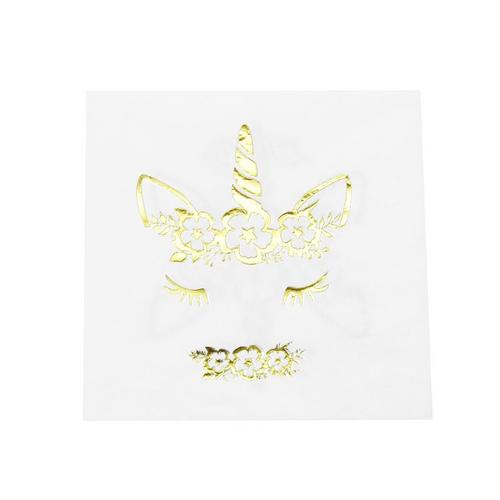 unicorn napkin-foil