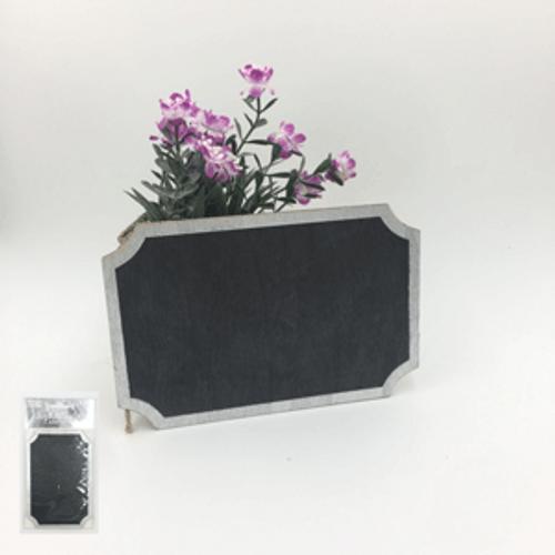 Silver Chalkboard Easel Sign (15cm x 10cm)
