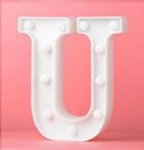 LED Letter U