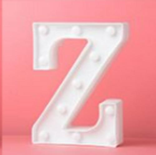 LED Letter Z