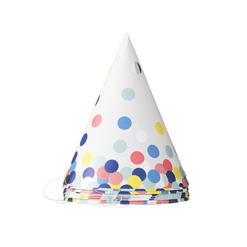 Polka Dots Paper Hats