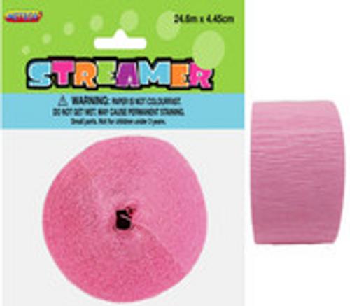 CREPE STREAMER - LOVELY PINK