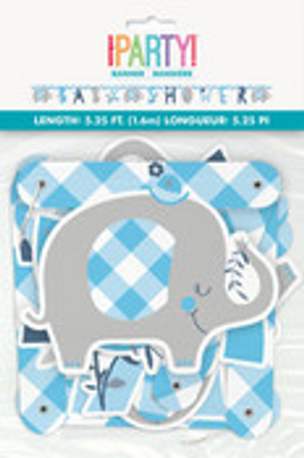 BLUE ELEPHANT JOINTED BANNER
