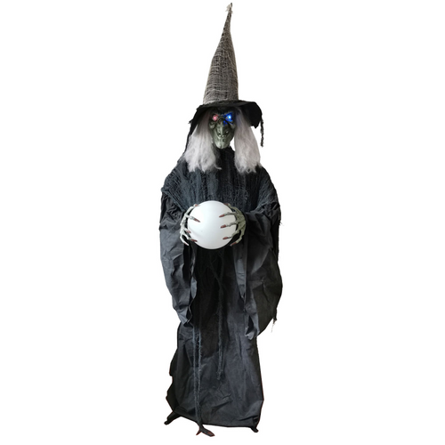 Witch w/Crystal Ball and