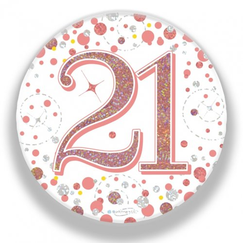 BADGE 75MM FIZZ #21 RGOLD P1