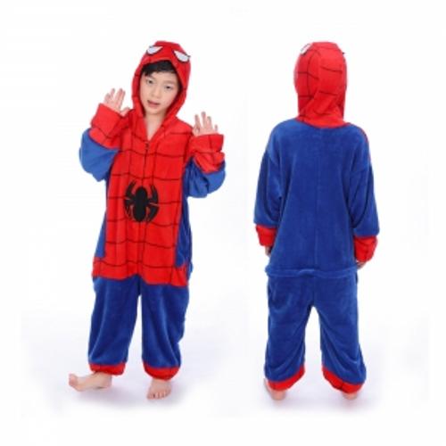 CHILDRENS SPIDER HERO  ONESIE