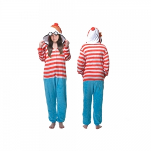ADULTS WALLY ONESIE ON HANGER