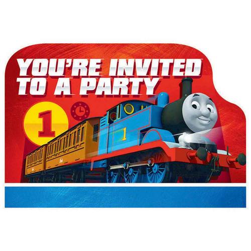 Thomas All Aboard PCard Invite