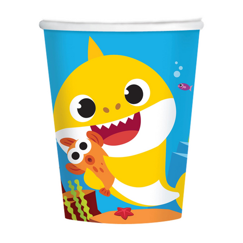 Baby Shark 9oz/266ml Cups